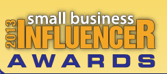 Nominated Expert in the 2013 Small Business Influncer North America Awards