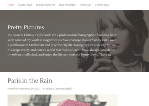 Great Blog style template example | MAC5 Web Design