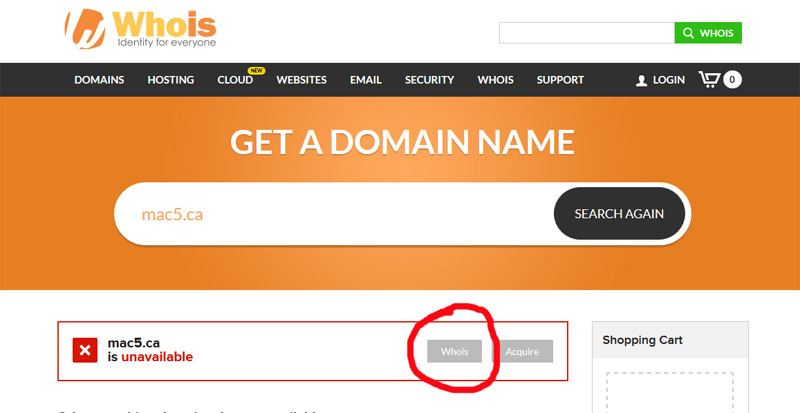 Domain Names - Who Owns Your Website? | MAC5 Blog