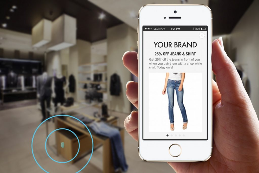 Beacon Powered Marketing for Mobile